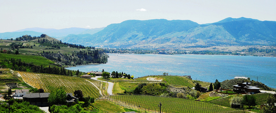 Naramata Bench Wineries region