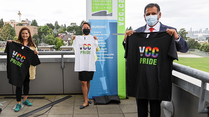 Celebrate Pride Week 2020 online with the VCC community