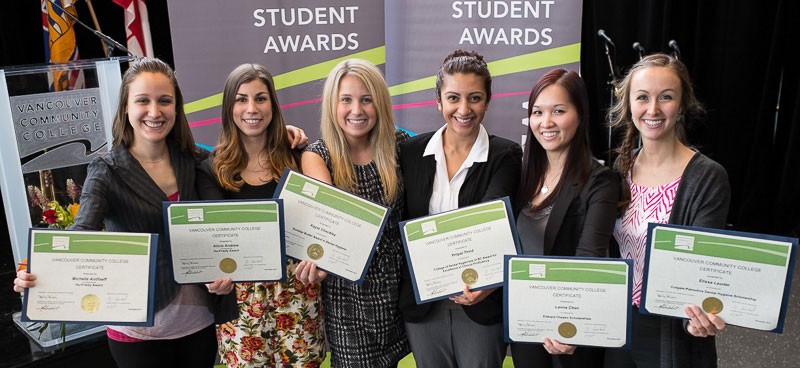 2013 Student Awards ceremony recipients