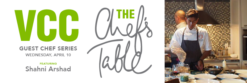 Chefs Table April 2019