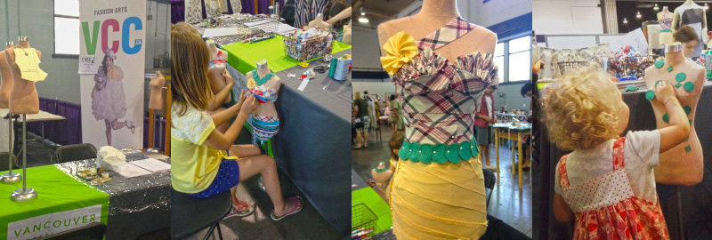Fashion Arts at Vancouver Maker Faire 2015