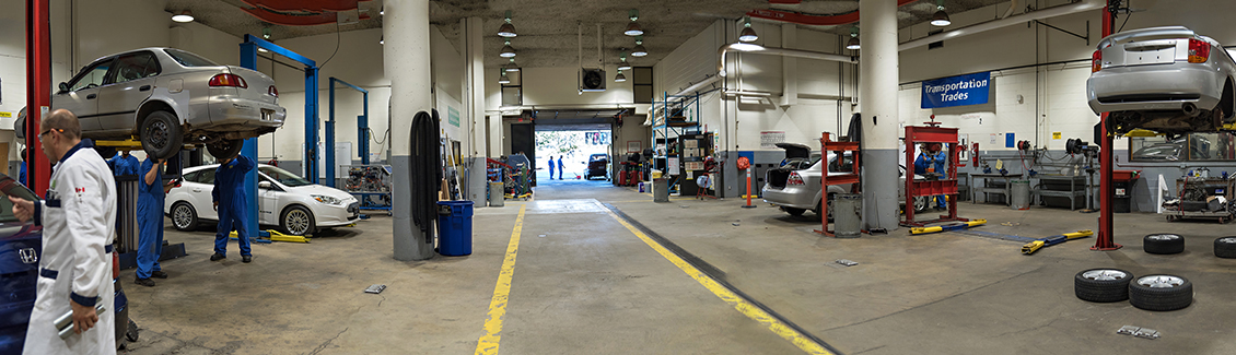 Automotive Service  Program has a world class facility