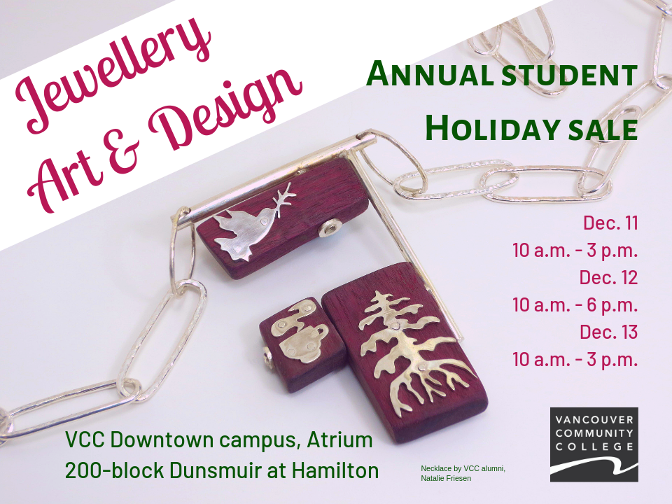 Jewellery Art & Design 2018 holiday sale