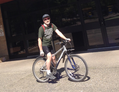 Graham Huckin-Bike to Work Week-2015