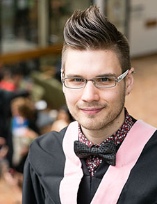 2014 convocation valedictorian billy school of music, dance and design