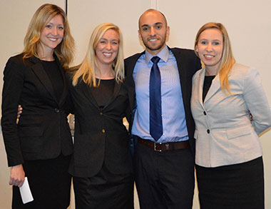 vcc hospitality management degree students win linkbc student case competition