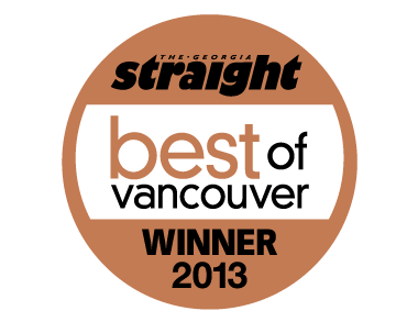 Logo for Georgia Straight Best of Vancouver awards