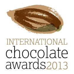 logo for the international chocolate awards