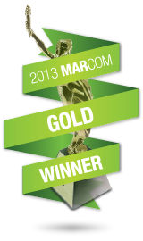 VCC won Marcom Gold Award for  website redesign and transit ad campaign categories.