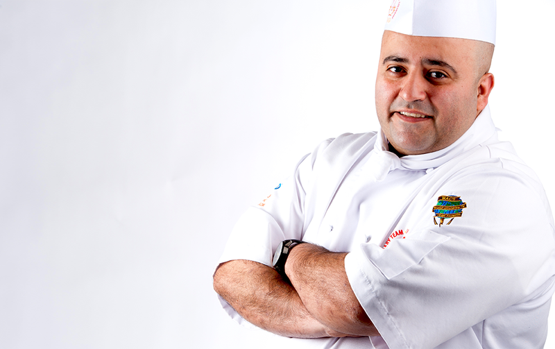 Chef Hamid Salimian, an award winning chef joins VCC's world class culinary school.