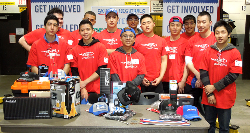 VCC hosts Skills Canada BC Competition