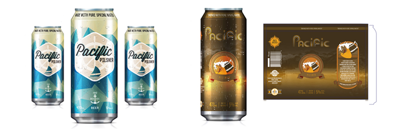 Digital-graphic-design-dgd-pacific-pilsner-editorial-inside