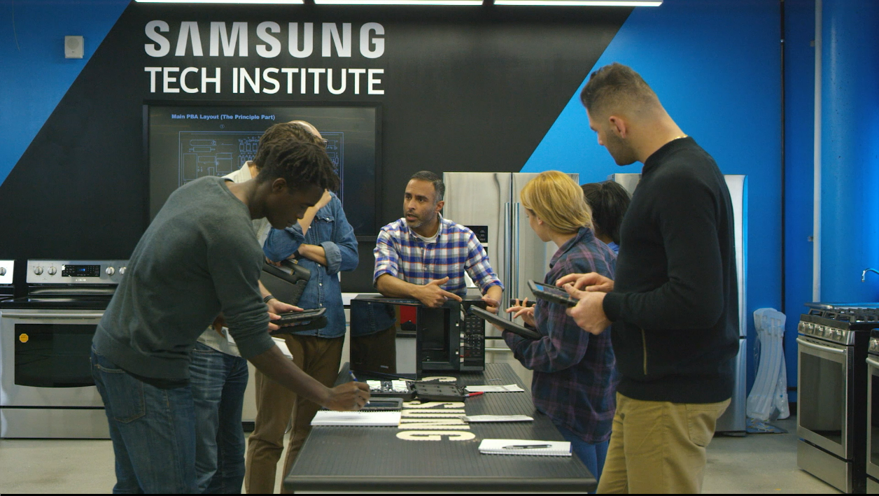 Samsung Appliance Repair Technician Entry Pathway training class