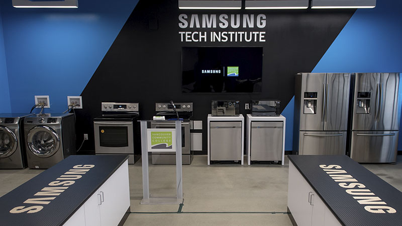 Samsung tech institute - Appliance repair technician