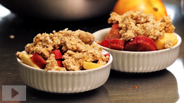 Easy dessert recipe: fruit crisp